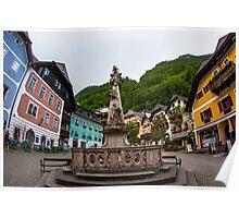 Hallstatt in Austria- 001 Poster