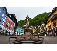 Hallstatt in Austria- 001 Photographic Print