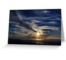 Yallingup Sunset - WA Australia Greeting Card