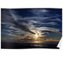 Yallingup Sunset - WA Australia Poster