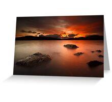 Sunset Skies Greeting Card