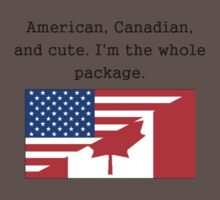 American Canadian And Cute Kids Clothes