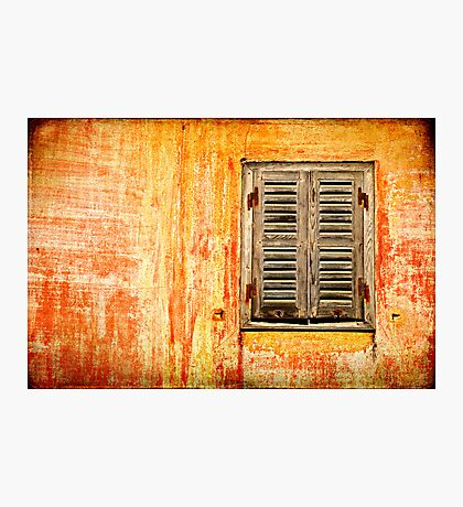 Window and amazing wall Photographic Print