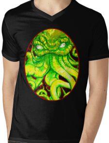 cthulhu cabochon Mens V-Neck T-Shirt