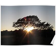 Sunset on Anglesey Poster