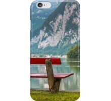 Hallstatt in Austria-003 iPhone Case/Skin