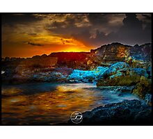Sicilian Sunset Photographic Print