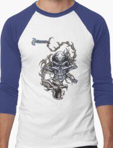 H t shirt Men's Baseball ¾ T-Shirt