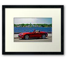 Summer Fun - Island Heights, New Jersey Framed Print