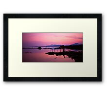 Sunset, Isle of Skye Framed Print