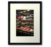 deli meats Framed Print