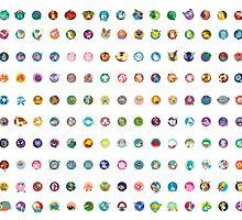 150 - Pokemon Original  by Missajrolls