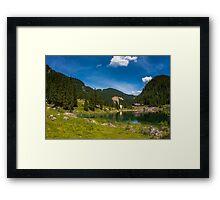 Hallstatt in Austria-005 Framed Print