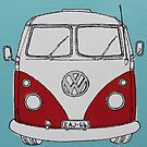 VW Camper Van by Adam Regester