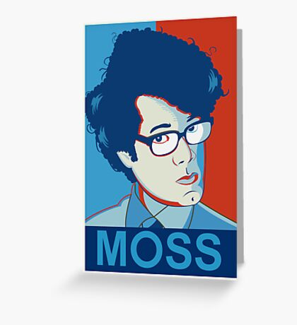 Moss | The IT Crowd Greeting Card