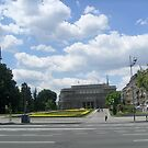 Town Hall  of Belgrade by Ana Belaj