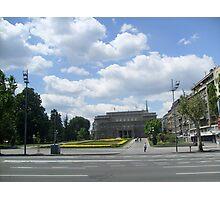 Town Hall  of Belgrade Photographic Print