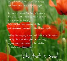 Life is mine by TriciaDanby