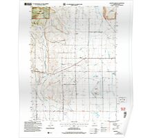 USGS Topo Map Oregon Lakeview Airport 280454 2004 24000 Poster