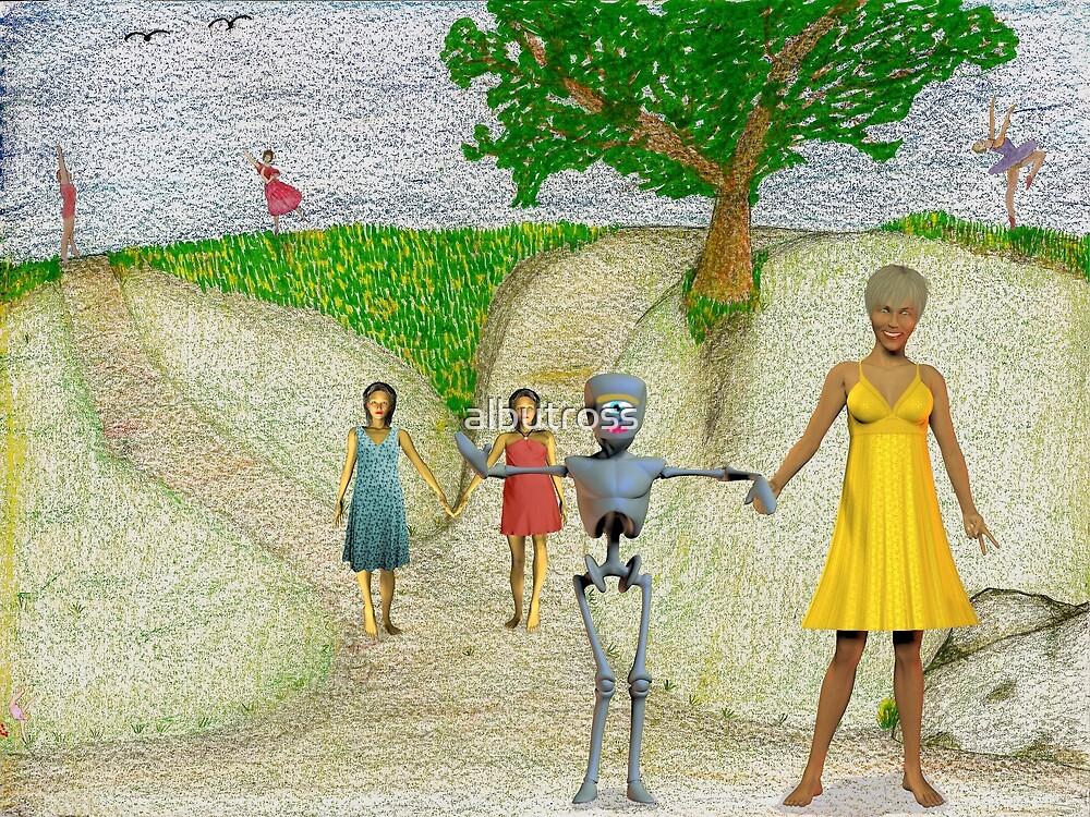 Spaceflight. 'Still in the silent Zone' frame 11 Fondarella's artwork by albutross