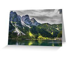 Hallstatt in Austria-007 Greeting Card