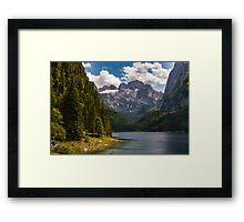 Hallstatt in Austria-008 Framed Print
