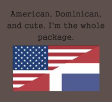 American Dominican And Cute Kids Clothes