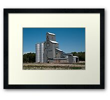 GTA Feeds Elevator, Choteau, Montana Framed Print