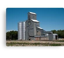 GTA Feeds Elevator, Choteau, Montana Canvas Print