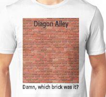 Diagon Alley Entrance Confusion Unisex T-Shirt