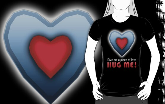 Give a Piece of Heart! HUG ME! by siddblog