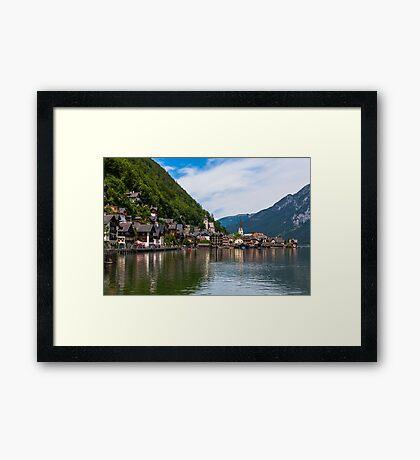 Hallstatt in Austria-011 Framed Print