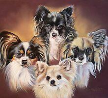 Ozzy, Harry, Ruby, Missy by Jane Smith