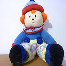 Hand knitted Clowns by EdsMum