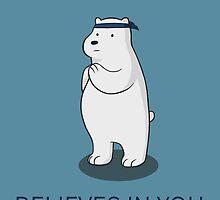 Ice Bear Believes in You by xo-shauna-xo