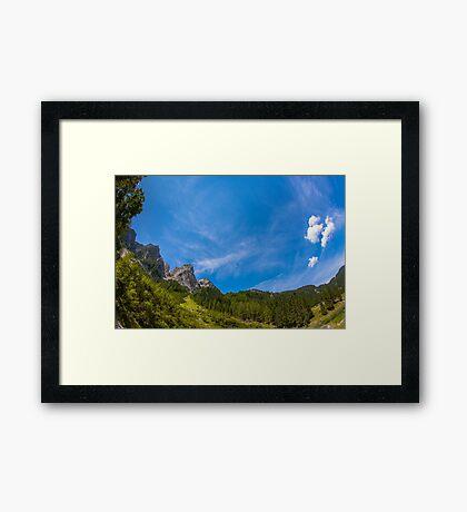 Hallstatt in Austria-012 Framed Print