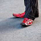 Dapper Dan and His Red Shoes by montserrat