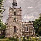 St.Margaret's Church,Barley by Geoff Carpenter