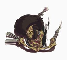 Beware of the Afro Ninja Zombie by Sven Ebert