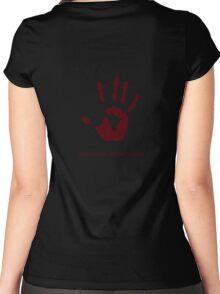 Dark Brotherhood: Sanguine, my brother. Women's Fitted Scoop T-Shirt