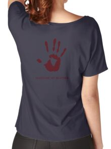 Dark Brotherhood: Sanguine, my brother. Women's Relaxed Fit T-Shirt