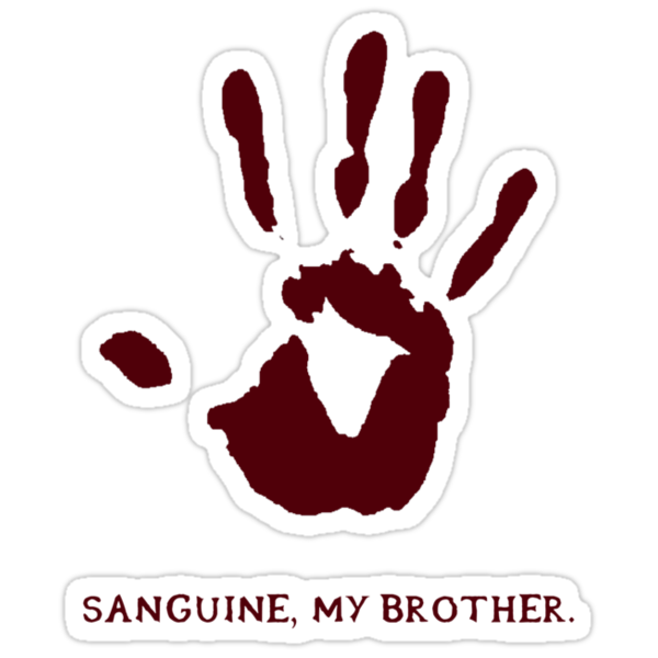 Dark Brotherhood: Sanguine, my brother. by Genus Bombus