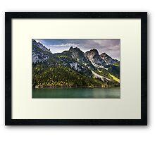 Hallstatt in Austria-013 Framed Print