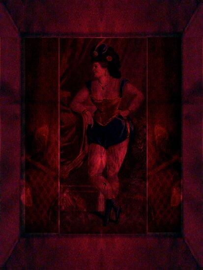 Plush Velvet Showgirl by Sarah Vernon