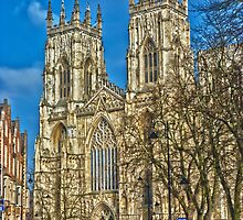 York Minster, England (HDR) by GrahamCSmith