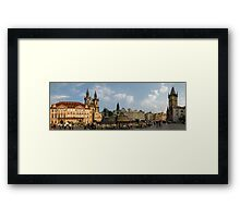 Prague (Panorama) Framed Print