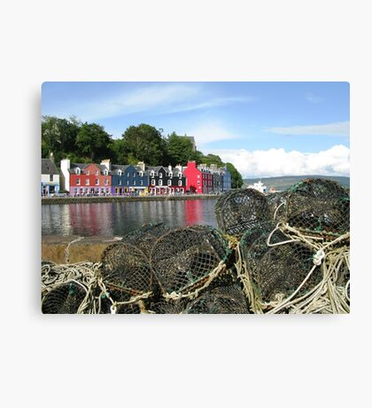 Tobermory Creels Canvas Print
