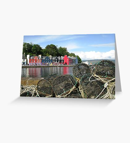 Tobermory Creels Greeting Card