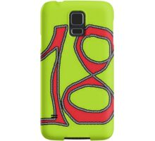 eighteen Samsung Galaxy Case/Skin