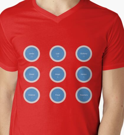 Dante + Mens V-Neck T-Shirt